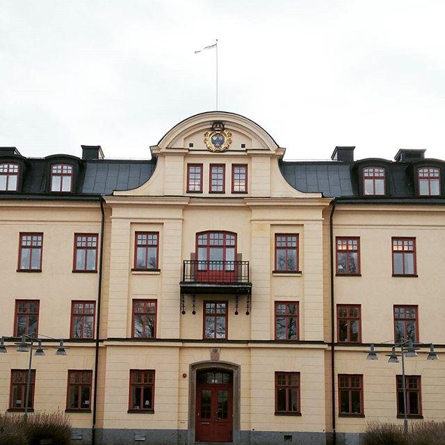 Military architecture, serving us (better) as university. #teaching #industrialdesign #gävle #högskolanigävle