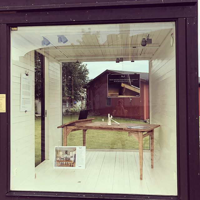 Student exhibition is on! #summercourse #designprojekt #hh #stolab1907
